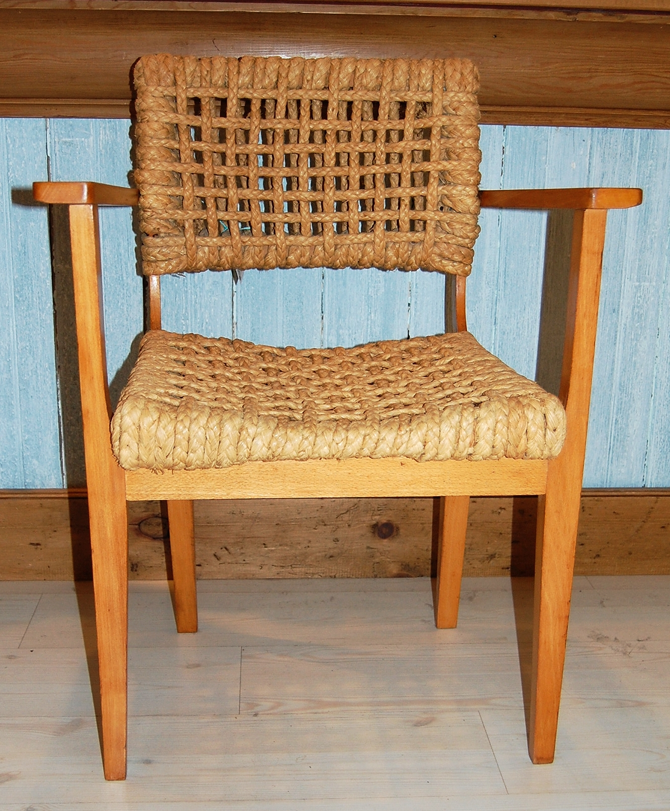 Vintage Rope Chair