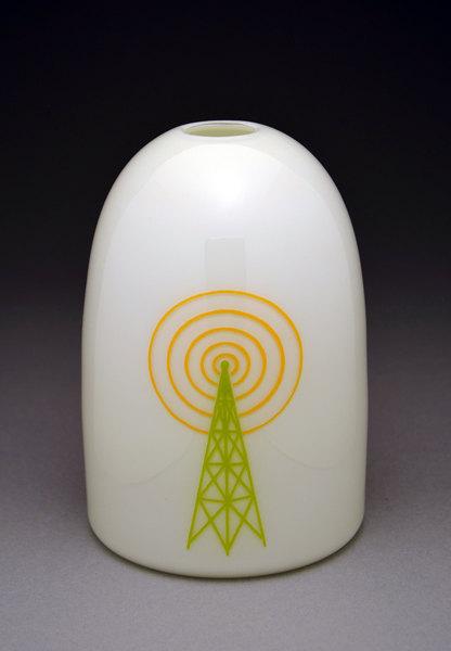 Cell Tower Modern Vase