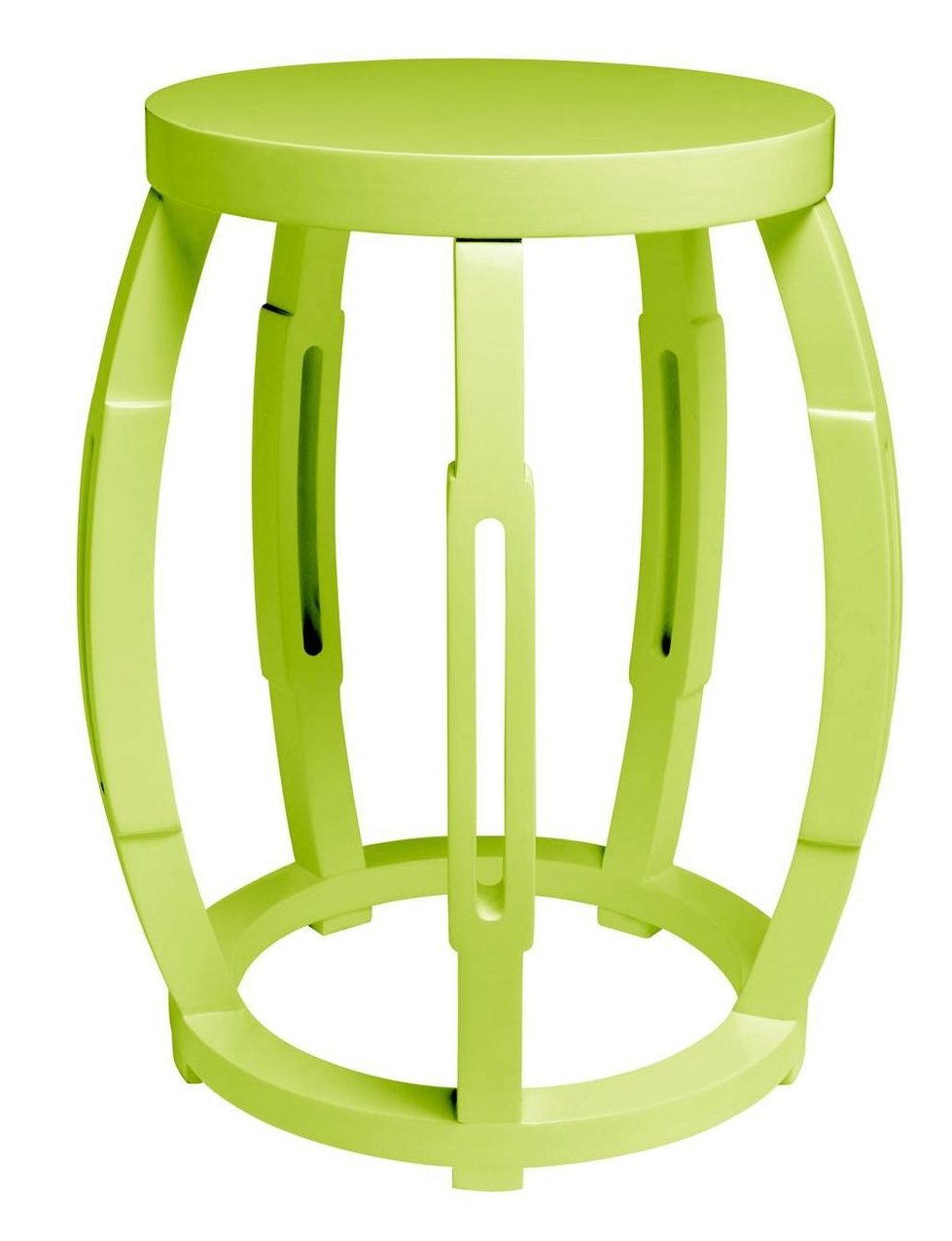 Drum Occasional Table Green