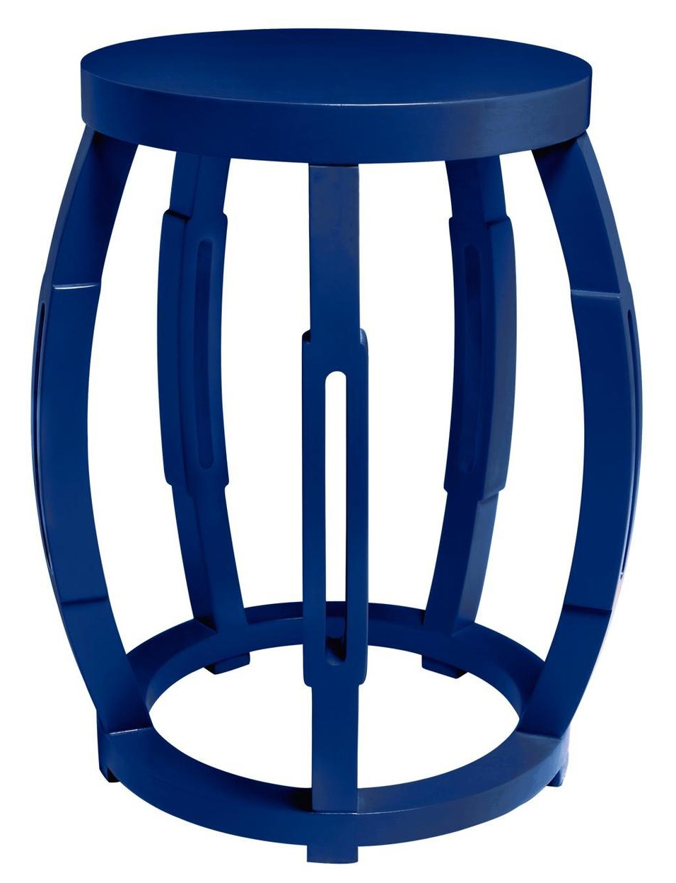 Drum Occasional Table Navy
