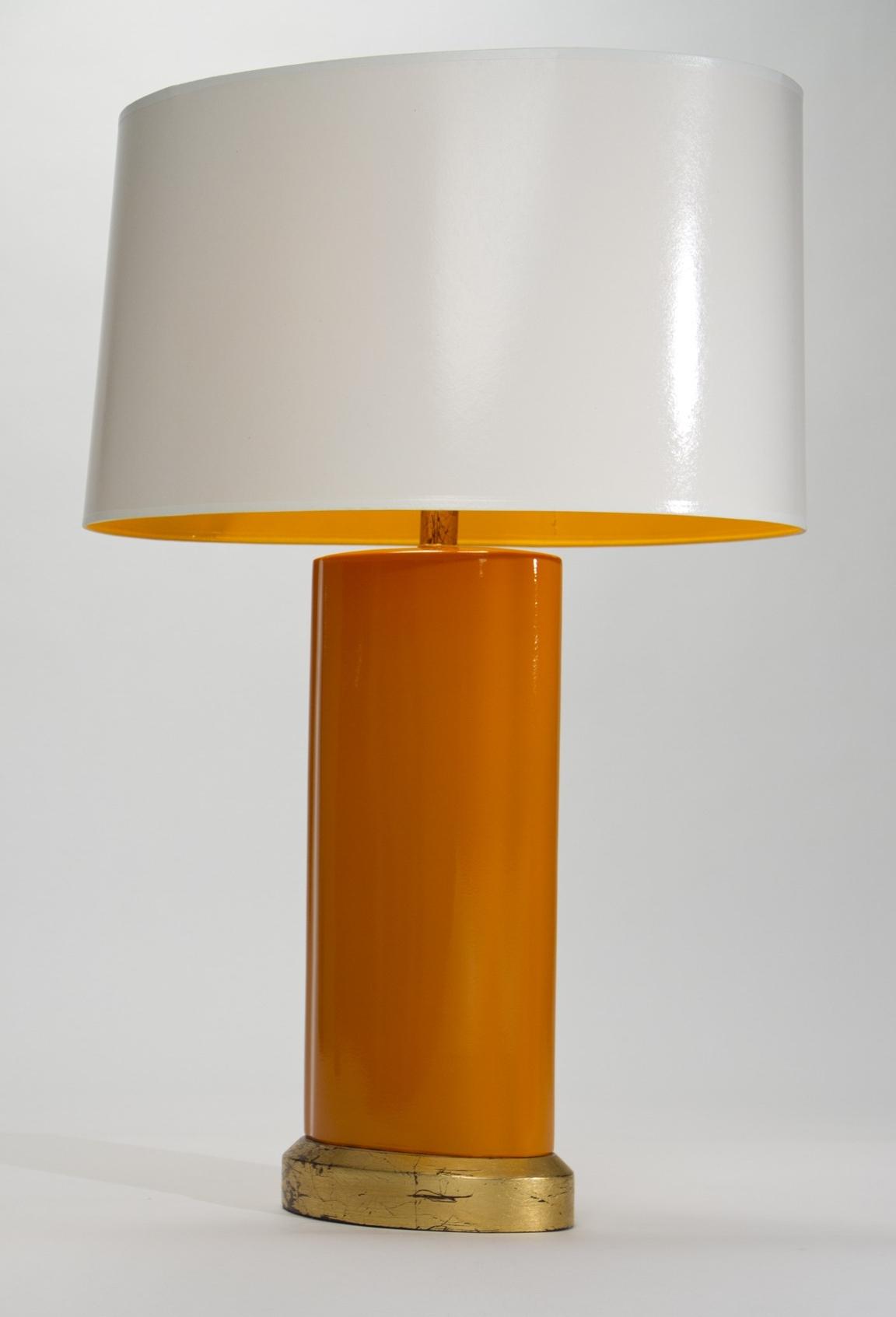 Tangerine Dream Oval Lamp