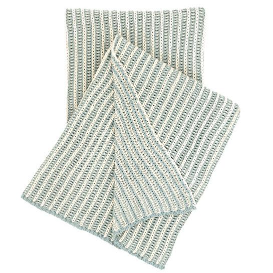 Aqua Knit Throw