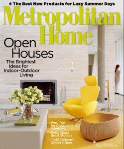Metropolitan Home - July-August 2007