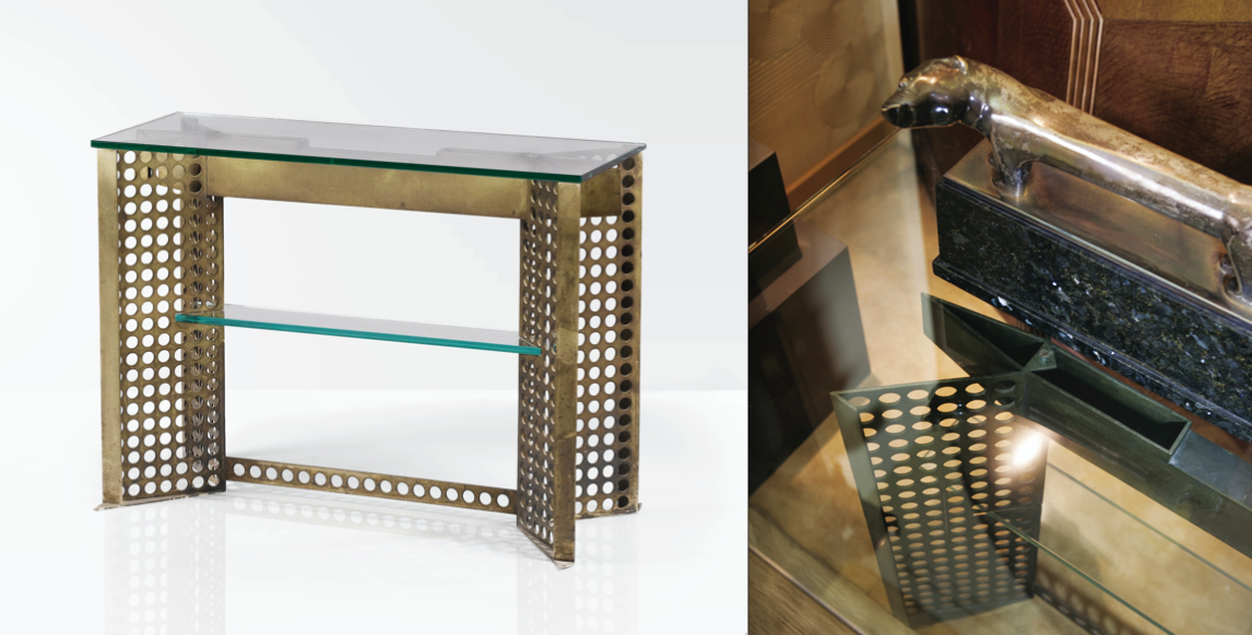 Pierre Legrain Console Table & Detail