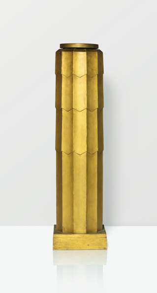 Gilt Wood Column by Rene Prou, 1925
