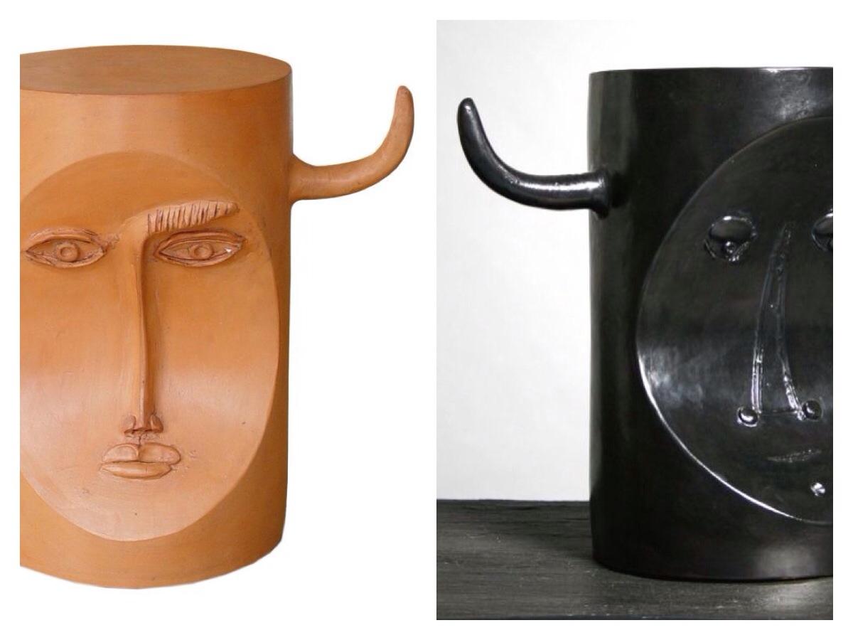 Image on left via  maison et toi  and on right via  Pinterest