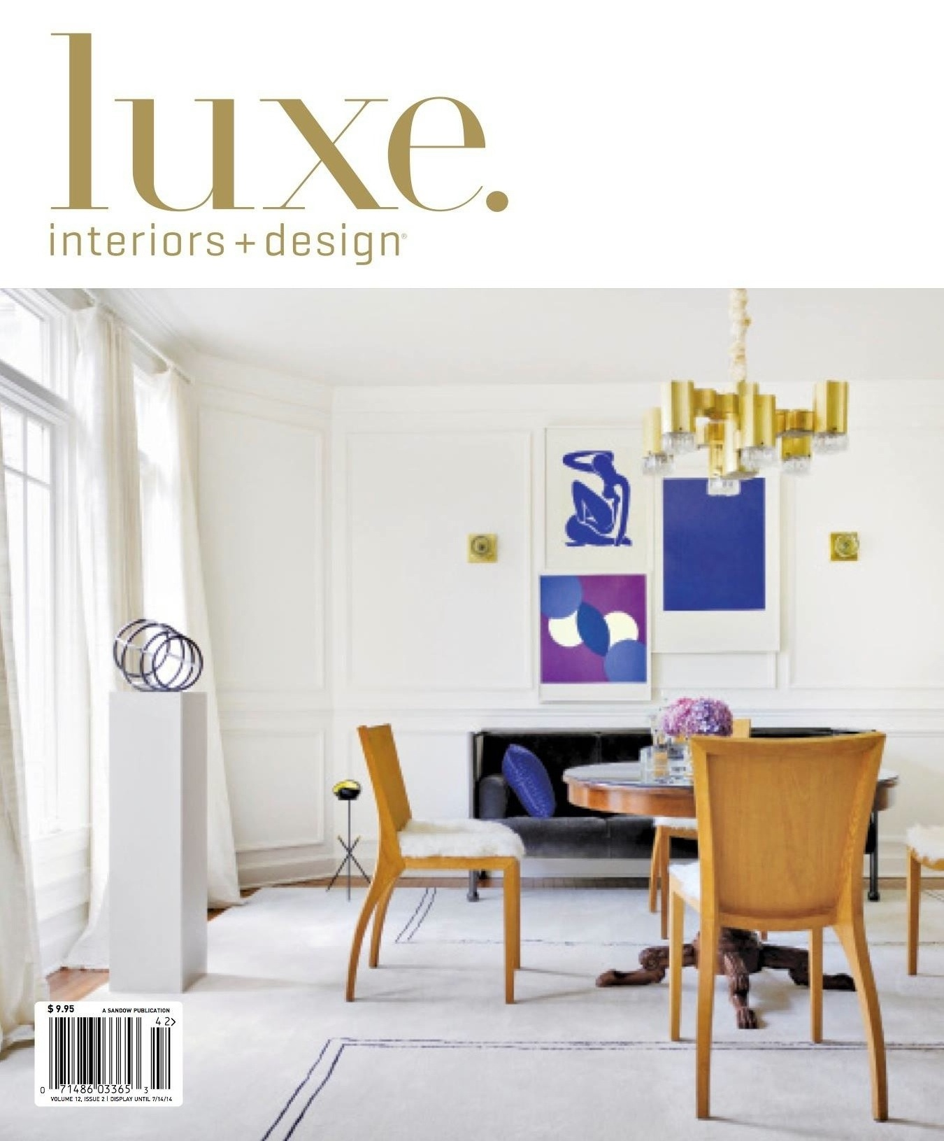 LUXE Interiors + Design (National), Spring 2014