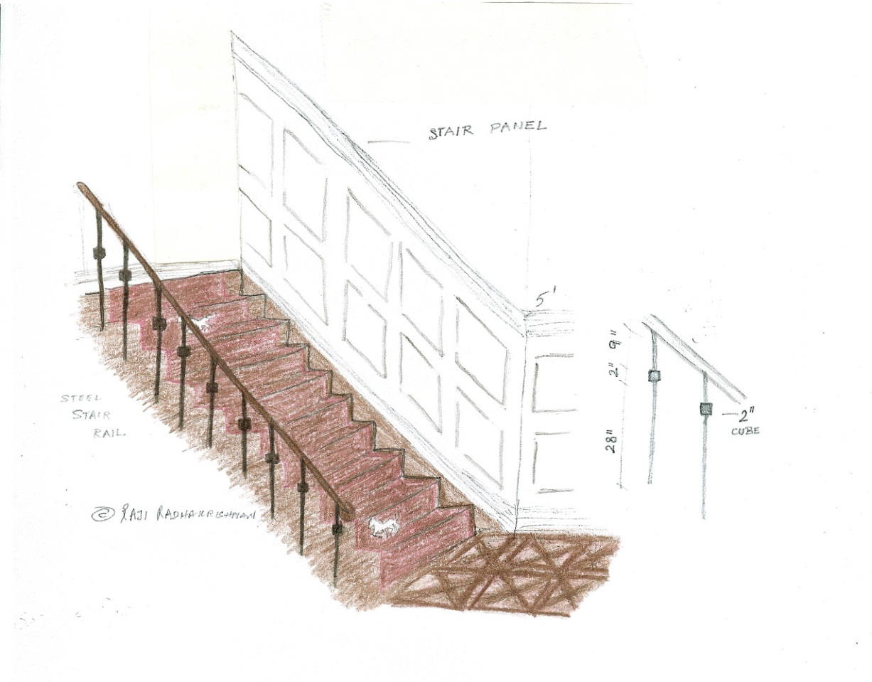 Initial rendering presented in early 2009 by  Raji RM  for the Foyer