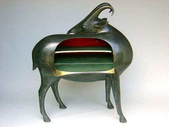 Mouflon de Pauline, 1993, by Francois Xavier Lalanne