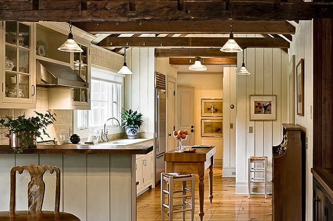 A quintessential country home kitchen renovated by Crisp Architects