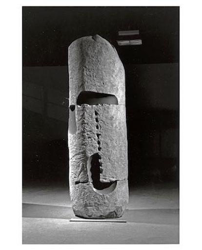 To Bring To Life, 1979, Basalt, Isamu Noguchi