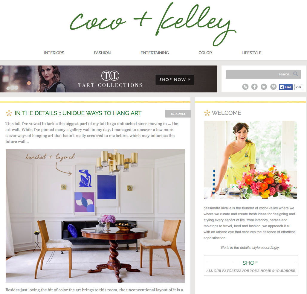 Coco + Kelley - Raji RM Interior Design Washington DC New York