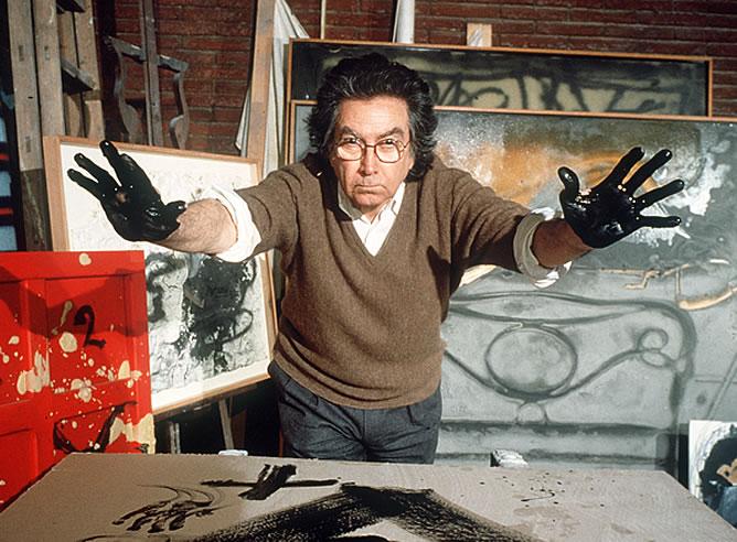 Antoni Tapies, 1923-2012