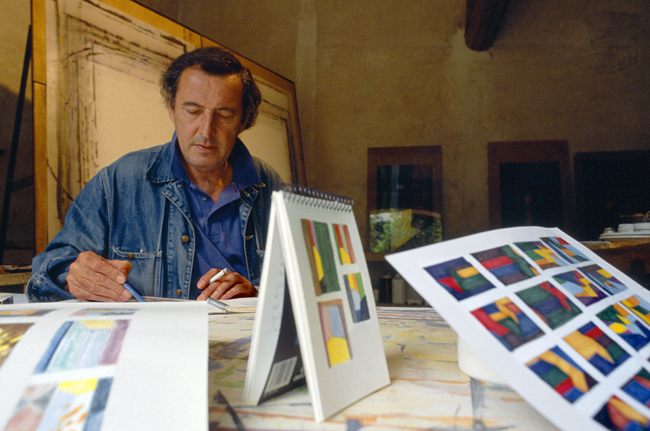 Guy de Rougemont 1992; Photography by  Michel Baret