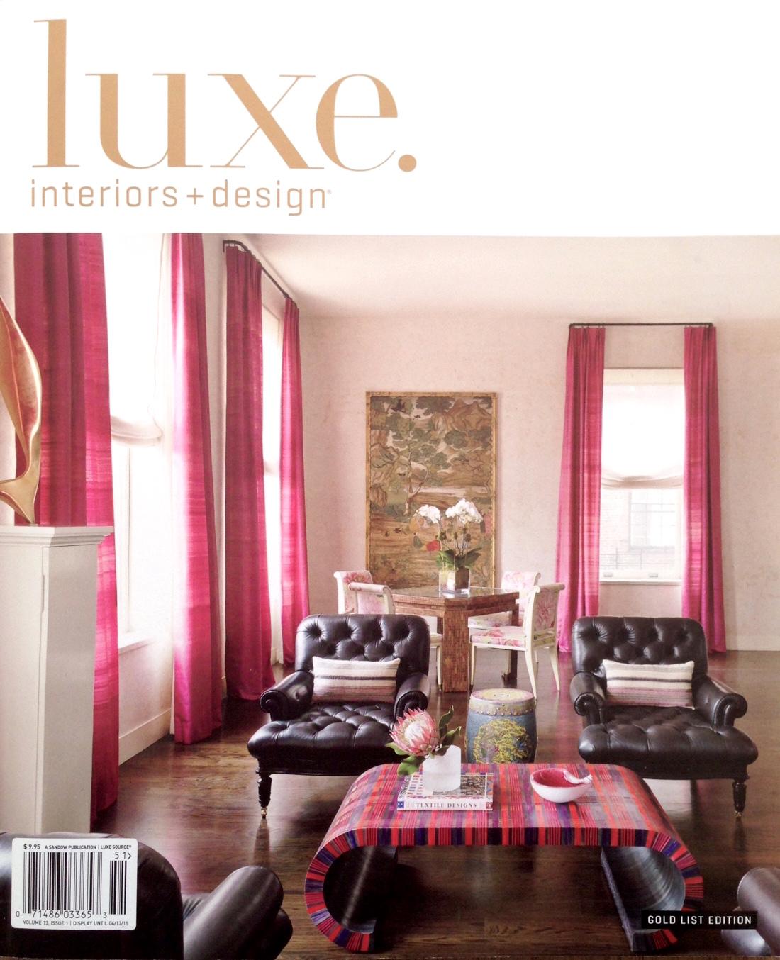 LUXE Interiors + Design, Winter 2015