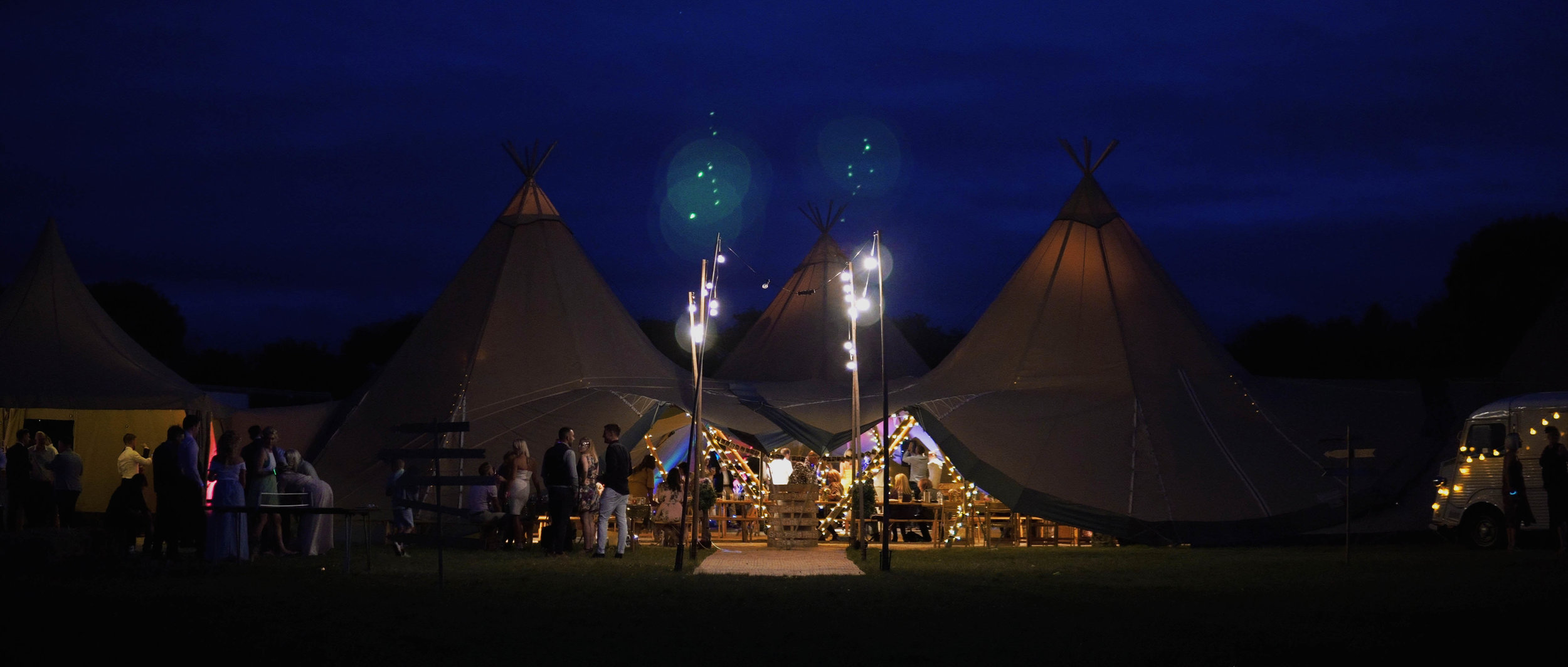festival wedding | delamere events