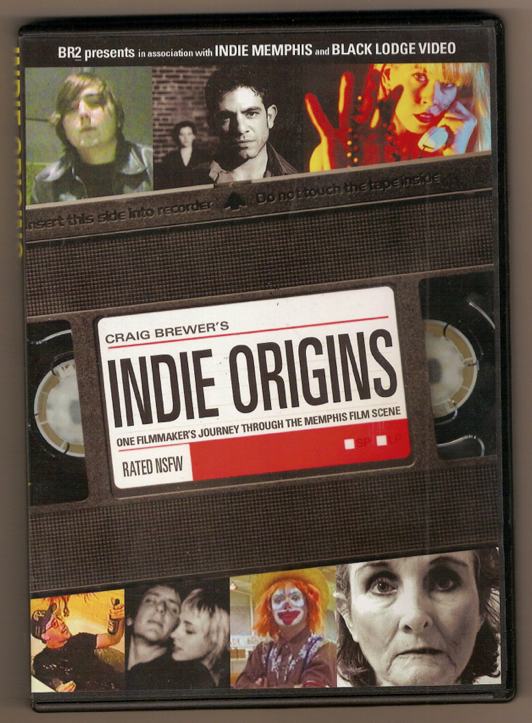The poster was based off of the DVD cover, which features a still from a work of each of the 7 filmmakers highlighted in the documentary.