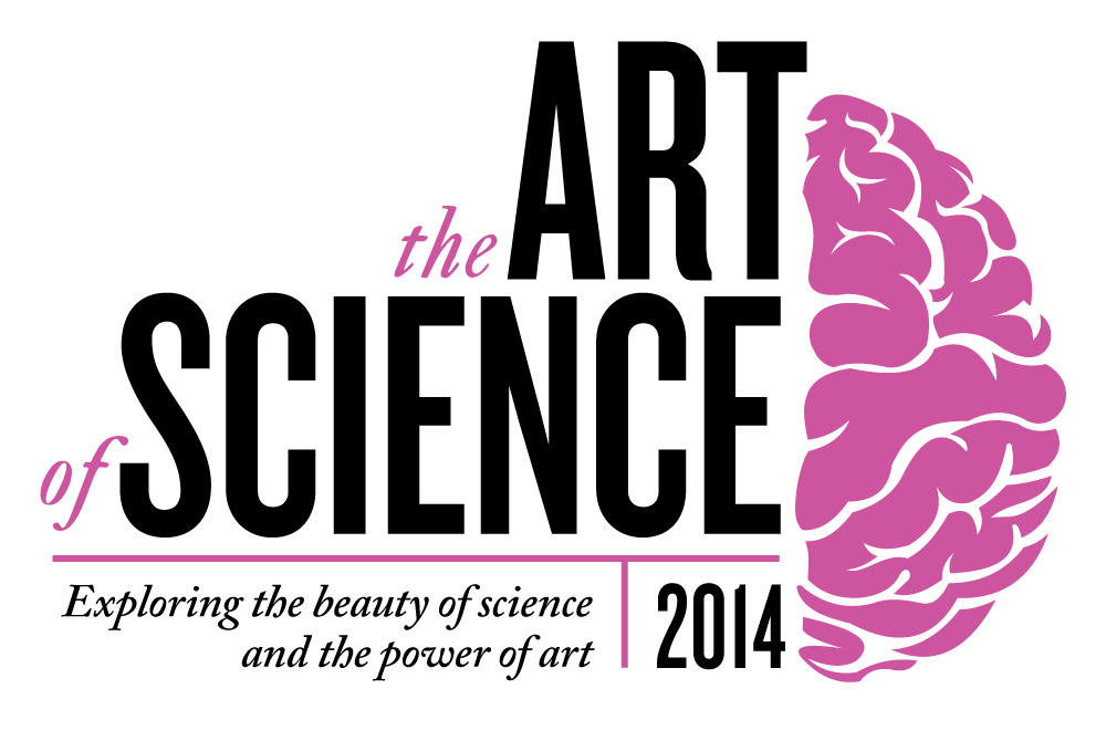 For the 2014 Art of Science, I decided to update the branding to be more flexible across various sized applications. We also took a departure from the signature red in favor of a more vibrant purple, not unlike the bright colored dyes used to identify certain entities in microscopic imagery.