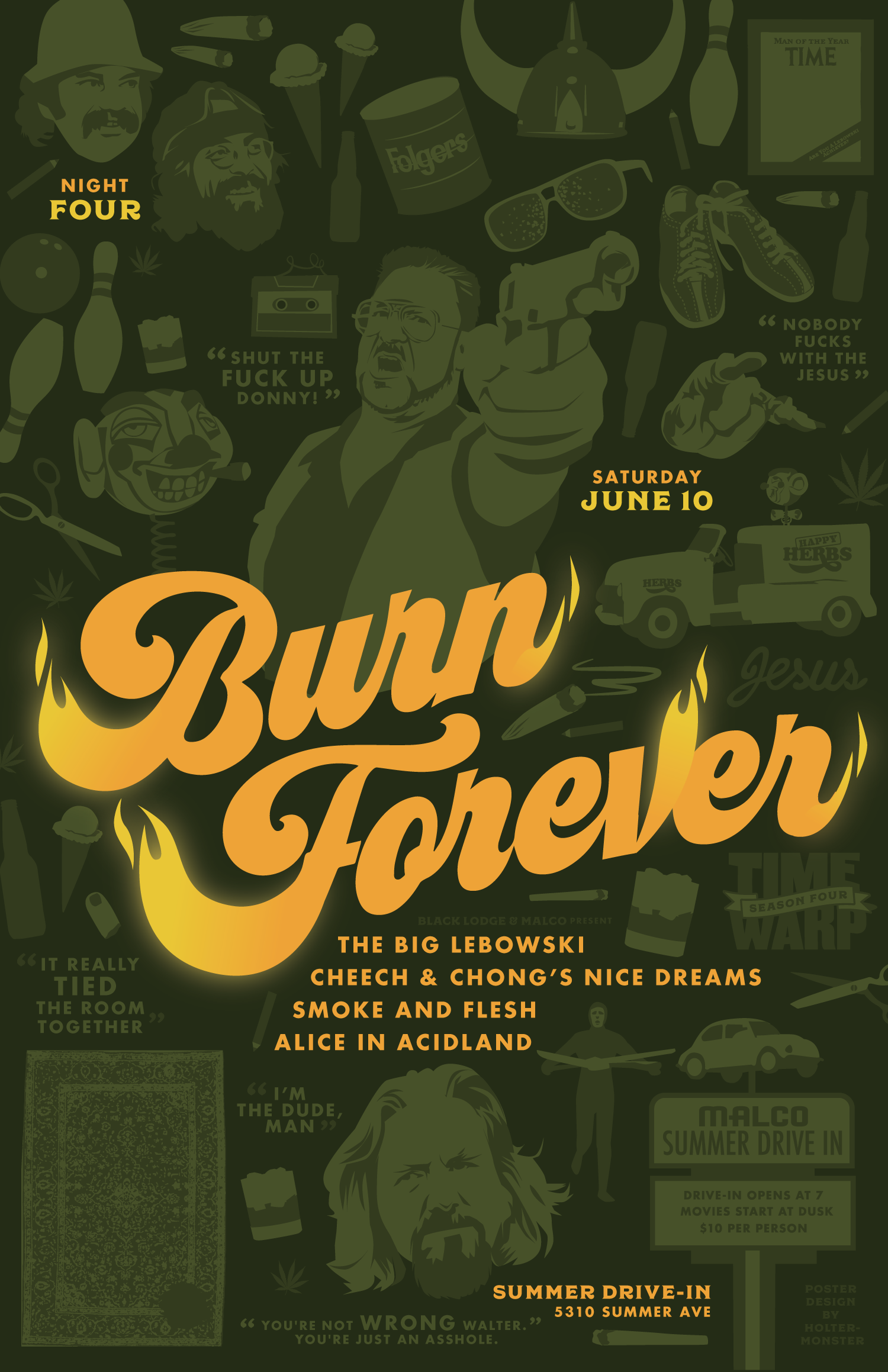 Time Warp Drive-In: Burn Forever