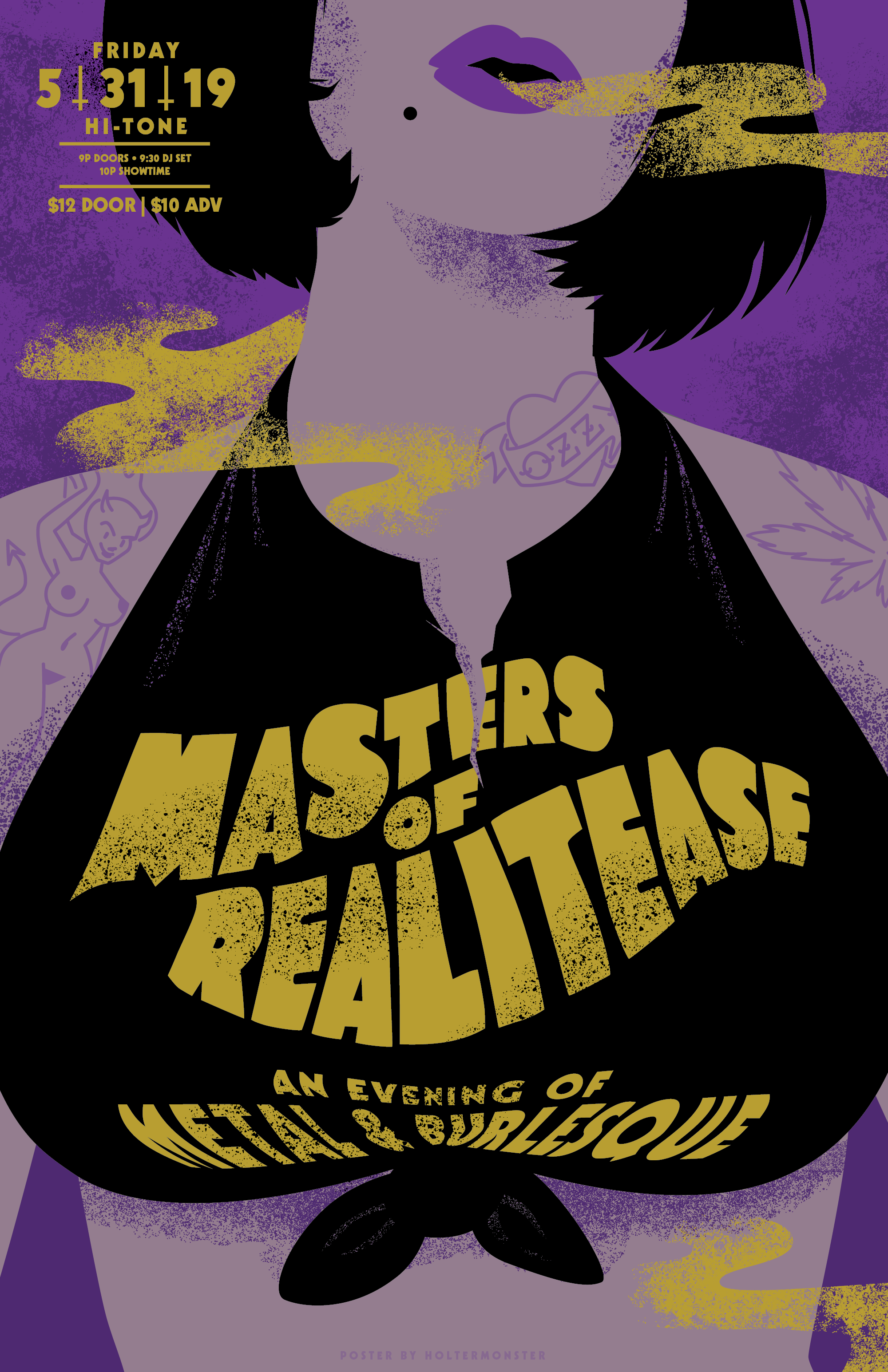 Masters of Realitease, metal-themed burlesque night