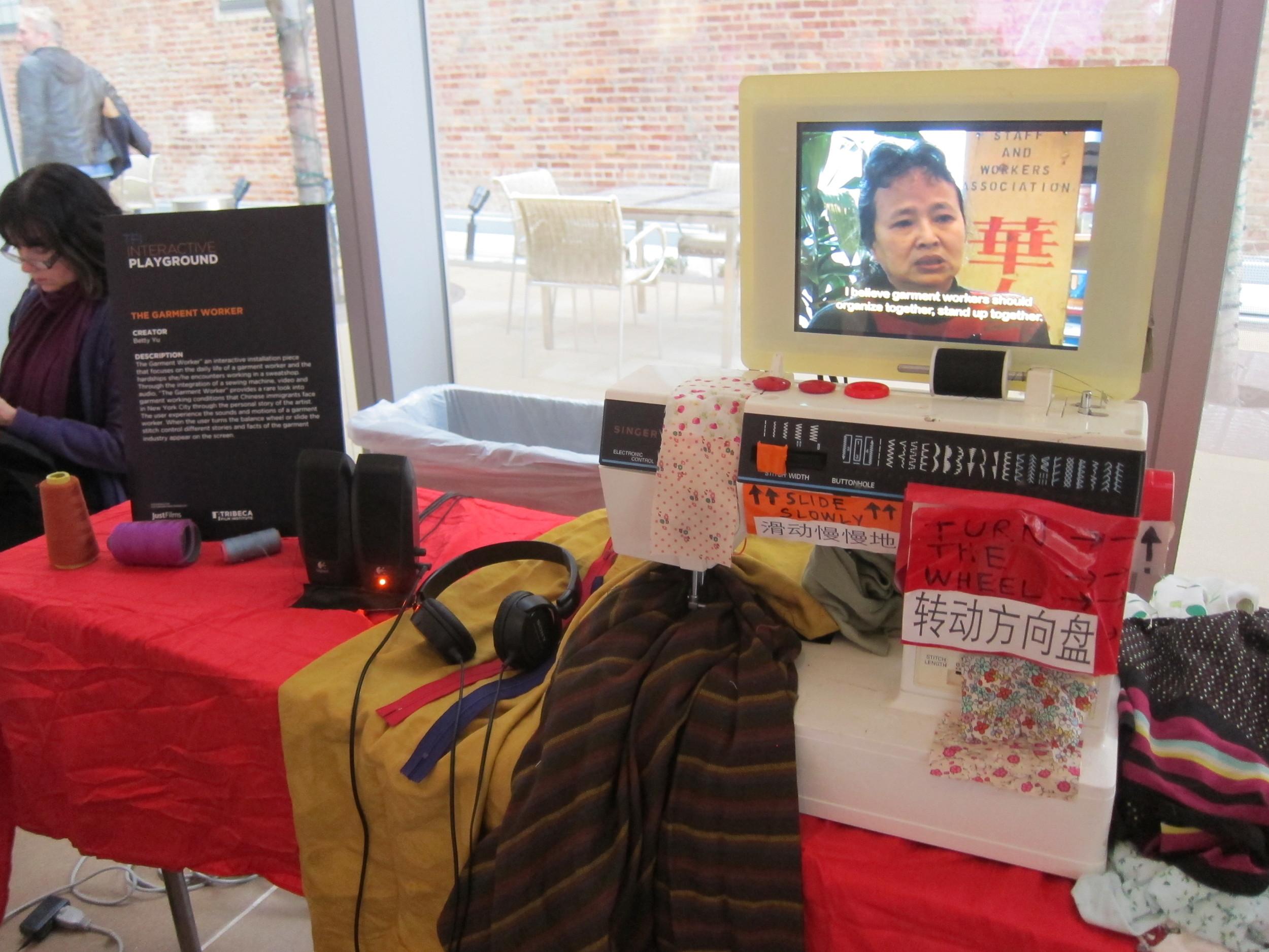 Tribeca Institute's Interactive iPlayground Showcase, 2014
