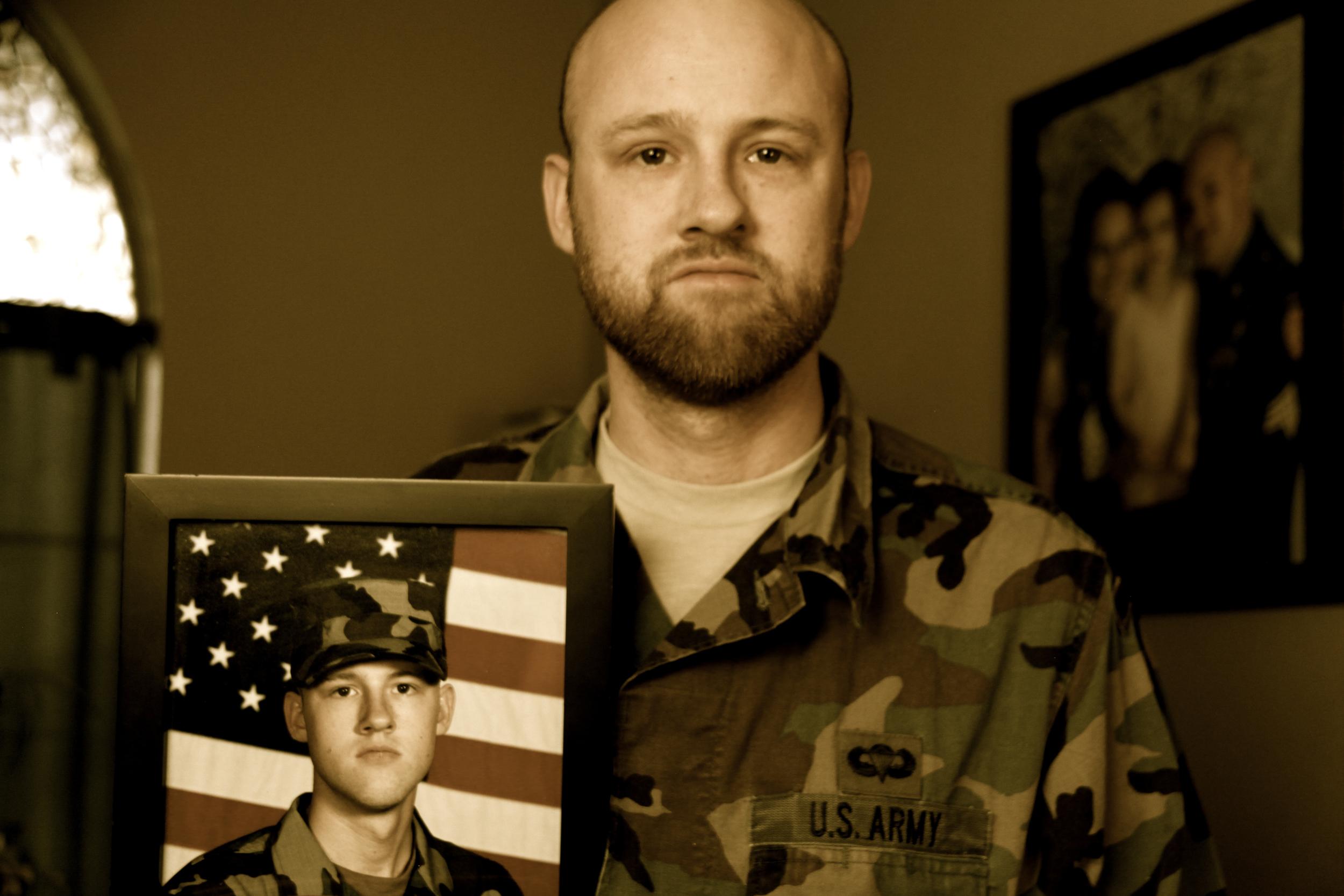 Paul Avett (alias name), US Army Veteran