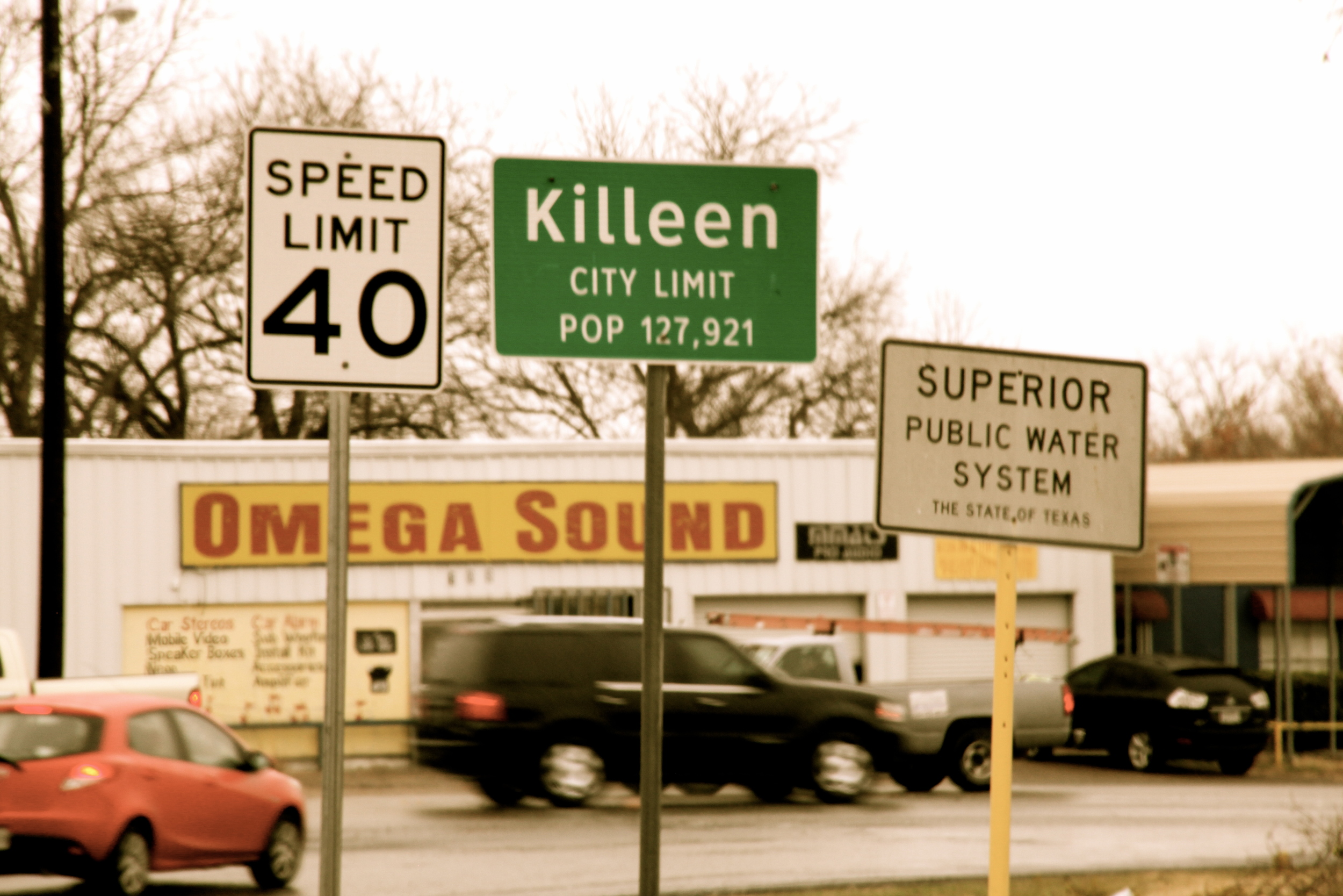 Killeen, Texas (home of the largest Army Installation in the U.S. - Fort Hood Military Base)