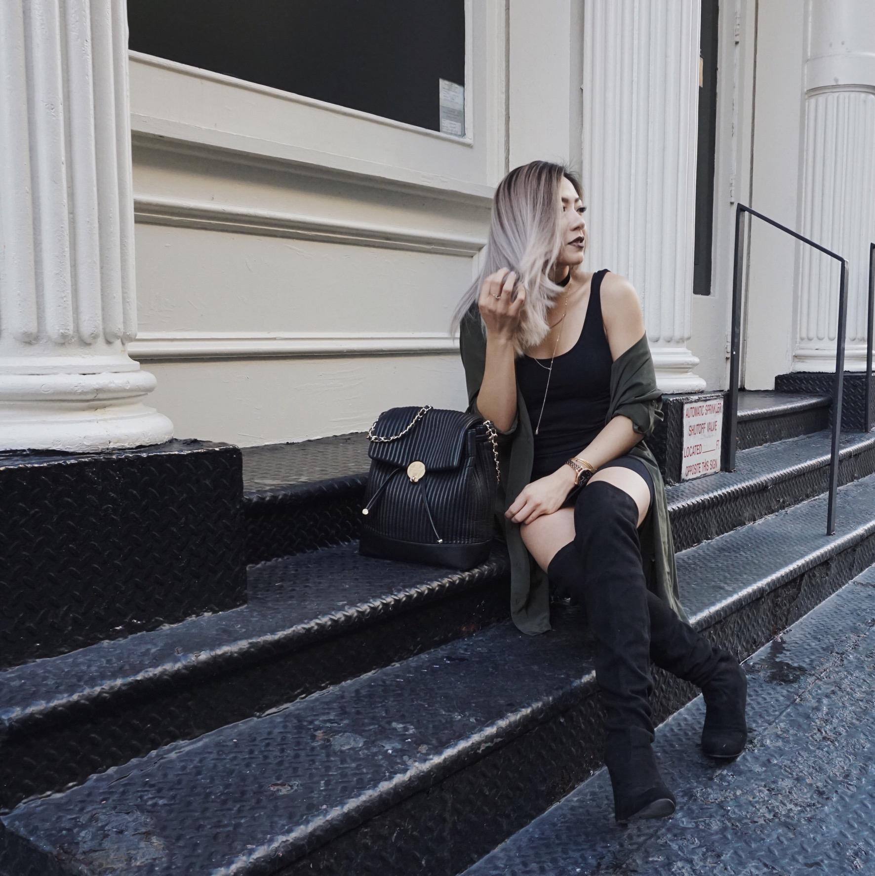 Henri bendel No. 7 Convertible Backpack - Black, steve madden gorgeous boots