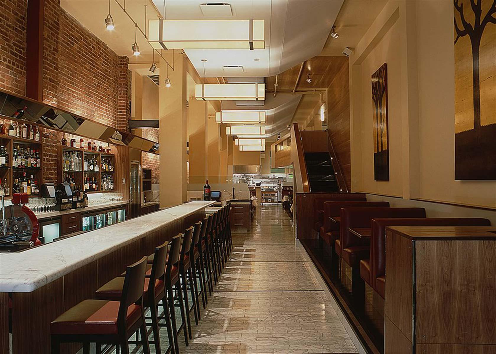 Perbacco Restaurant   Interior by   CCS Architecture