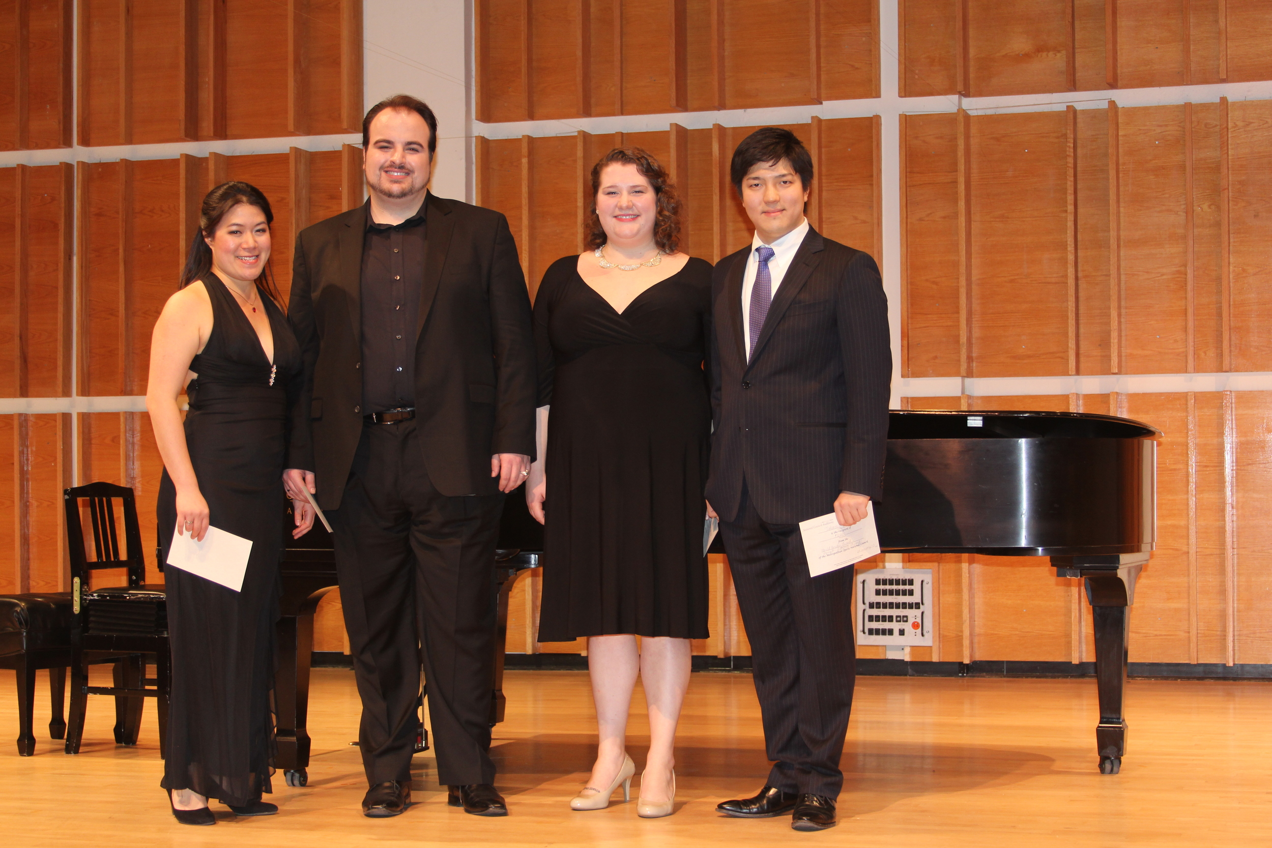 Region Winners: Karen Vuong, Matthew Anchel, Felicia Moore and Takaoki Onishi