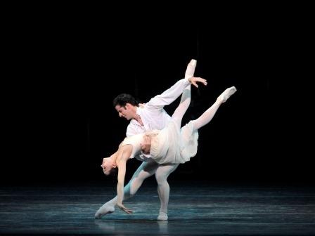 Marcelo Gomes and Diana Vishneva in Manon. Photo courtesy of Gene Schiavone