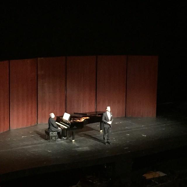 Joseph Dennis performing some Lucia at the Semis