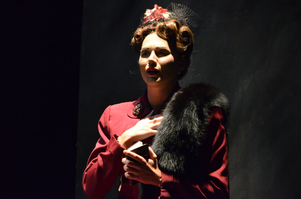 "Kirsten as Vera Boronel in Florida Grand Opera's "" The Consul "" this past May - Photo by Brittany Mazzurco of FGO"