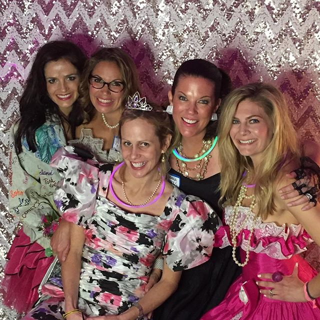 """Today's the perfect day to get your tickets to The Willow Wood Ball (https://willowwoodpreschool.ejoinme.org/tickets)! #willowwoodps As our very own Julie Oleshansky says (with perfect #TBT pictures, to boot!), """"The Willow Wood parents' party is one of the greatest ways to get to know new families, and to support the amazing school that our children love and treasure.  Each year the  parents work so hard to put together such a fun and memorable night, and it's one you will not forget!! One of my most favorite memories was the 80's prom party in the basement.  Everyone dressed to the nines, and I hadn't laughed that hard in a really long time!!"""""""