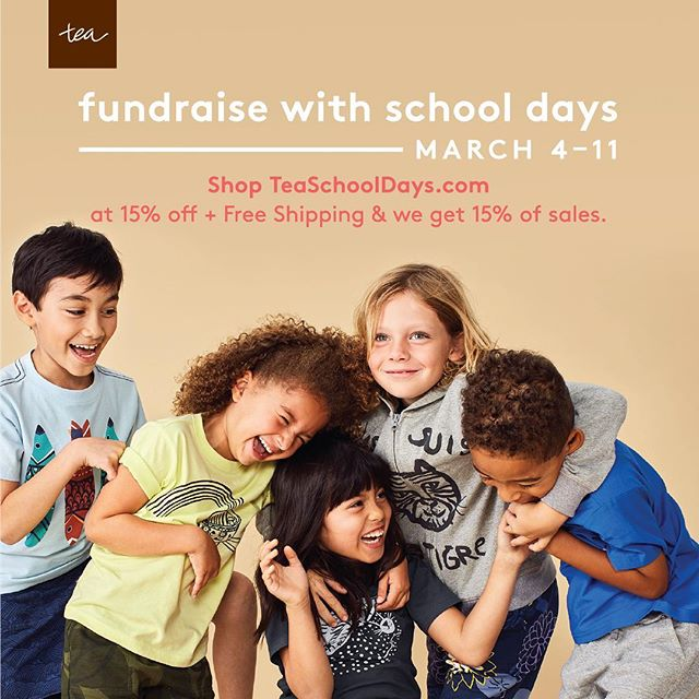 Don't let the cold weather ❄️ fool you - it'll be spring🌷before we know it!  Here to save the day, not a moment too soon: TEA SCHOOL DAYS!  Place your order for amazing globally-inspired children's clothes from Tea Collection this week (March 4-11) at TeaSchoolDays.com and use code SDS19WILLOWWOOD.  You'll receive 15% off your order and free shipping, and 15% of your order gets donated back to us!  Thank you so much for supporting Willow Wood! #willowwoodps
