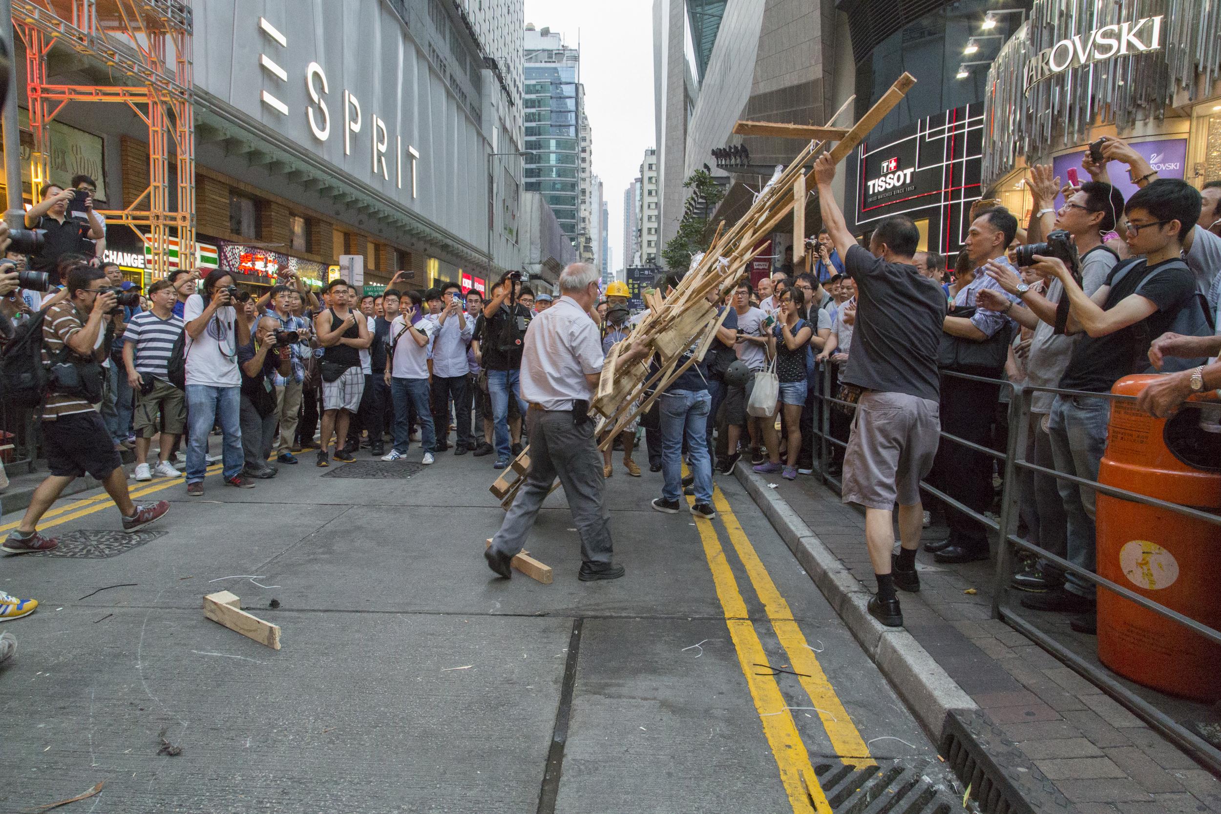 Mong Kok, Hong Kong  September 2014