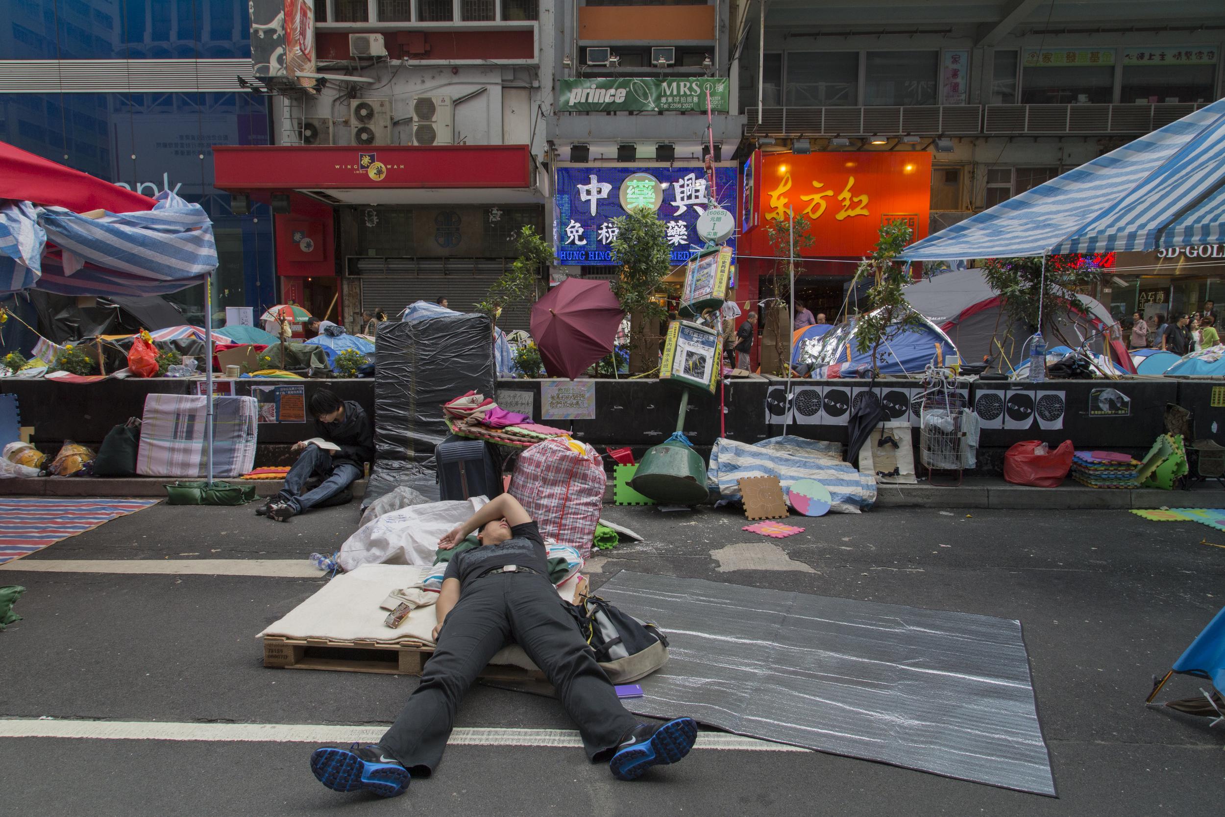 Mong Kok, Hong Kong  November 2014