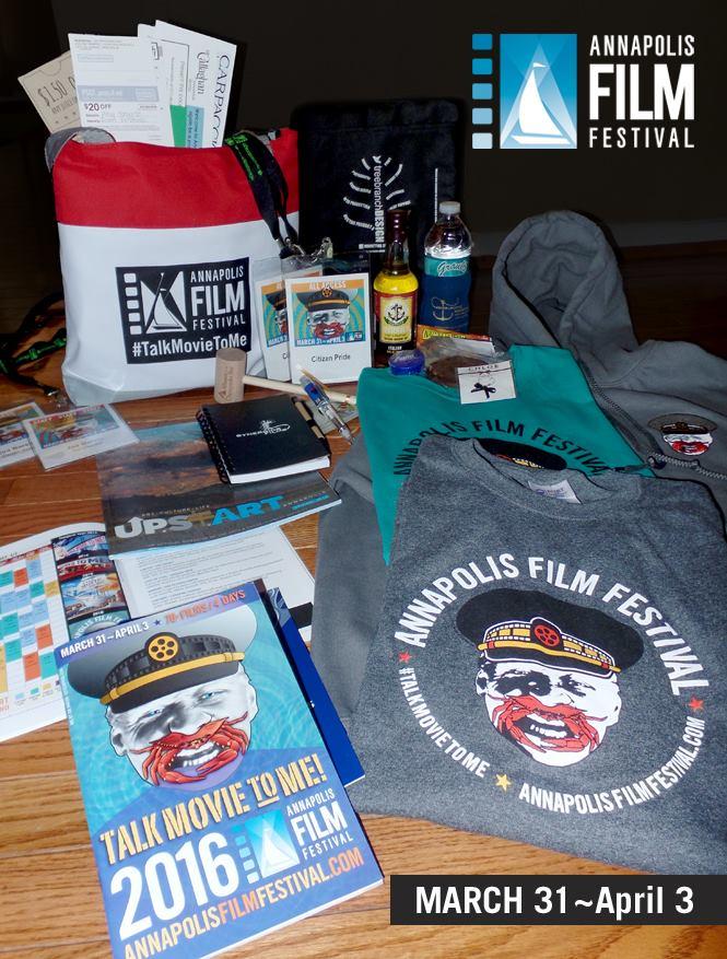 2016 Annapolis Film Festival identity and swag created by joe barsin