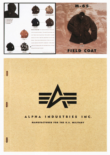 alpha industries, first corporate identity created by Barsin in 1993 while working at siquis ltd in baltimore.