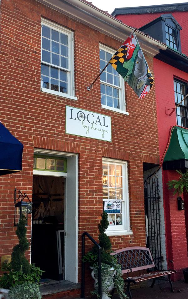 Visit LOCAL by Design! On Main street in downtown annapolis (right next to O'Briens)