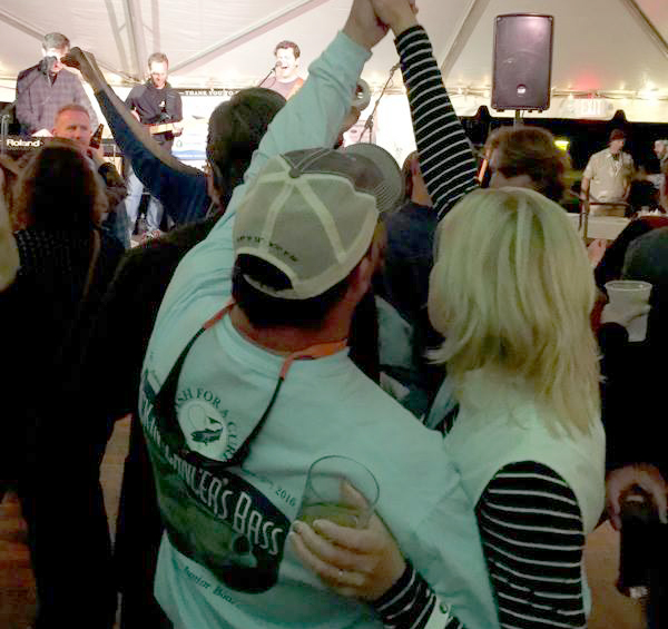 f4ac celebrating went into the night! the shore party has become one of the big annapolis events of the season.