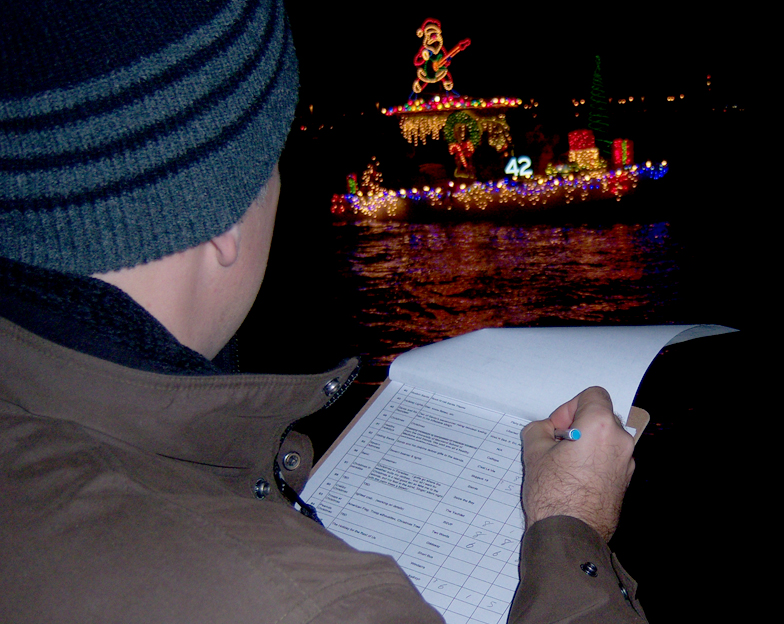 Joe Barsin is one of the judges of the EYC Lights Parade.