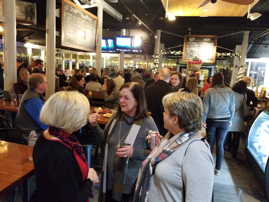 The newly renovated Annapolis Market House was packed for the AFF theme reveal.