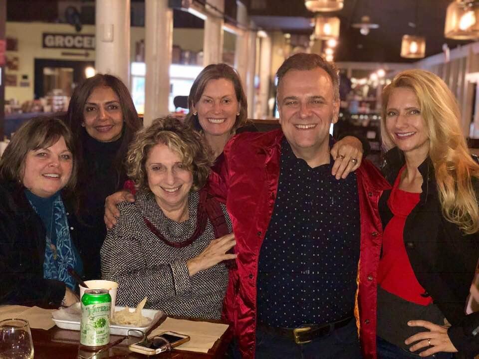 AFF Team: Lee Anderson (Creative Director/Founder), Parabh Gill (Board Member), Patti White (Creative Director/Founder), Elizabeth Lietchty (Board Member), Joe and Eva Barsin (Art Directors, JEB Design).