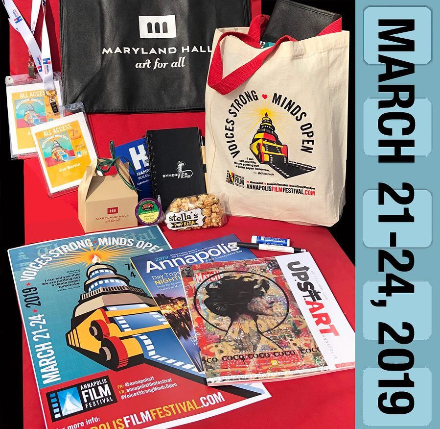 AFF 2019 Sponsors all receive this gift package a few days before Opening Night, March 21, 2019.