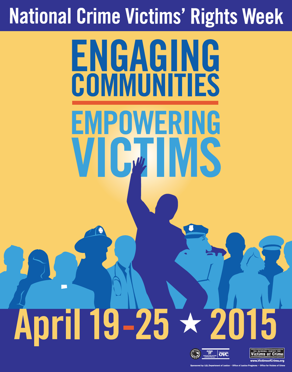 The  2015 National Crime Victims' Rights Week Poster  by  Joe Barsin