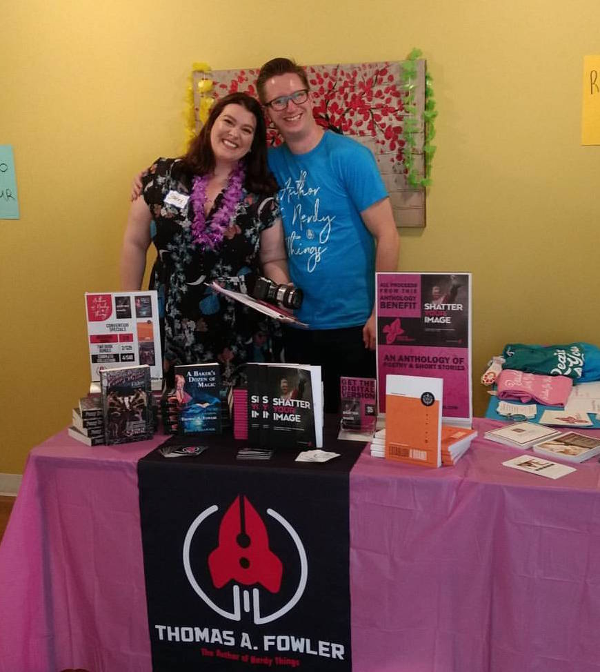 With Realize Your Beauty founder, Stacey Merkl, at the Realize Your Beauty day.