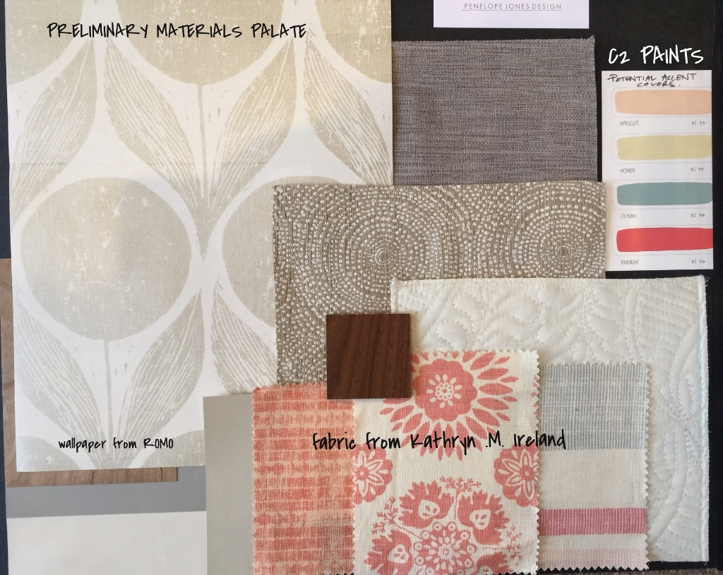 Early materials palate
