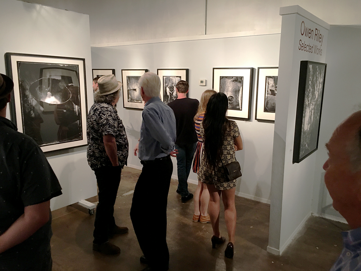 """ Owen   Riley - Selected Works.""  Solo Show           Opening night The Southeast Center for Photography, Greenville, S.C.  September 2016"