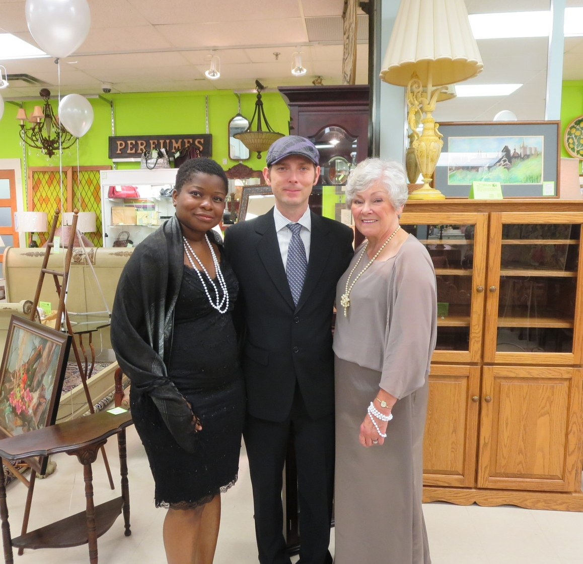 Stephanie, Peter, Donna Cansfield supporting The Dorothy Ley Hospice